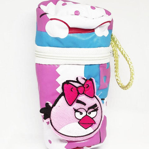 Baby Angry Bird Feeder Cover Bag - Pink