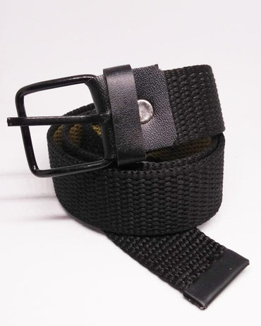 Cotton Belts For Kids - Black