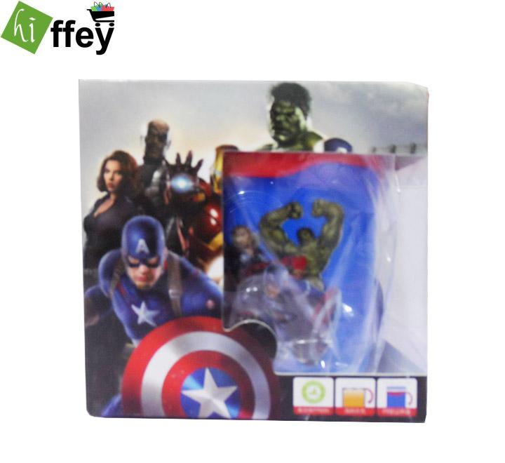 Avengers Cartoon Stainless Steel Cup for Kids - Hiffey