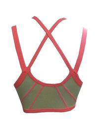 Sports Bra For Girls Pineapple Delight Pittsburgh Color