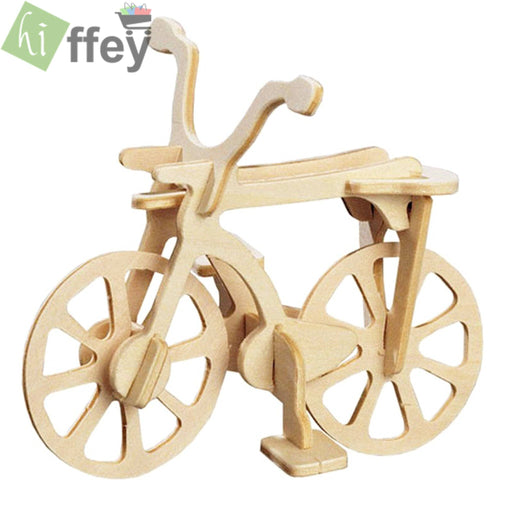 3D Puzzle Toy - Bicycle woodcraft construction - Hiffey