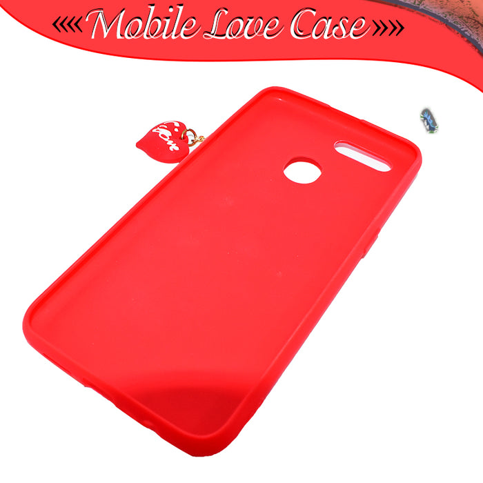Hello Kitty Oppo A7 Fancy Mobile Covers - Red