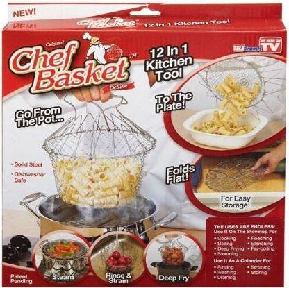 Chef Basket 12 in 1 Kitchen Tool - Hiffey