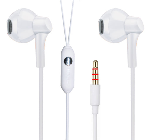 Blue Spectrum D-46 Universal Earphone - White - Hiffey