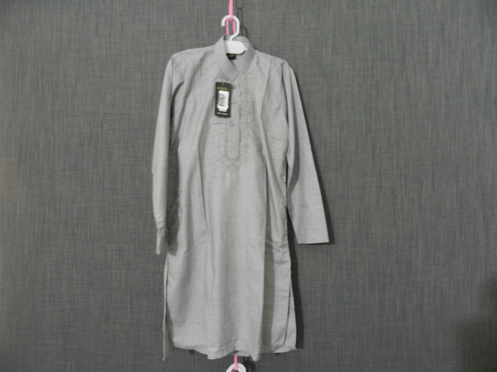 Light Gray kids Kurta and Shalwar