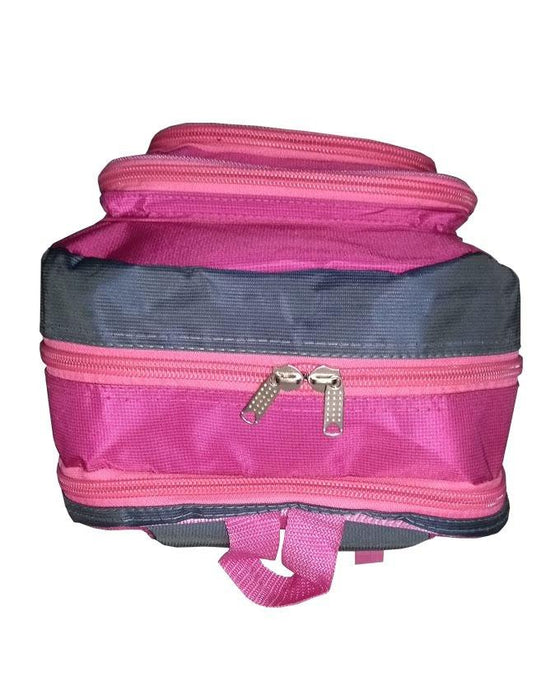 Camel Mountain School Bag - Pink - Hiffey