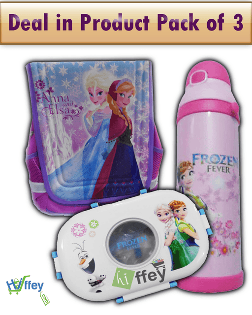 Deals In Product Pack Of 3 - Frozen Bags | Frozen Bottle | Frozen Lunch Box - Hiffey