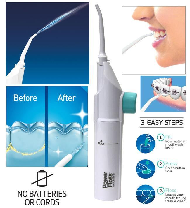 Dental Water Jet Power Floss