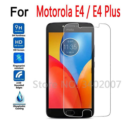 Screen Glass Protector for Motorola E4+ - Hiffey
