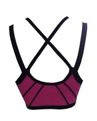 Sports Bra For Girls Magenta