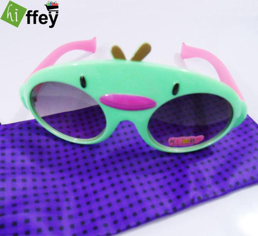 Duck face Sunglasses for Kids - Green - Hiffey