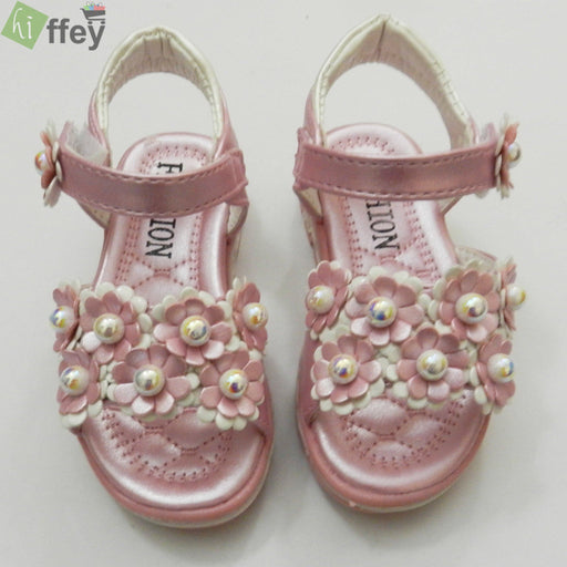 Pink Fashion Sandal For Girl - Hiffey