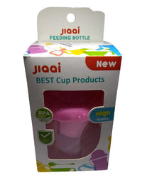 Jiaai Feeding and Drinking Cup - 3 in 1 - 7 oz - Pink