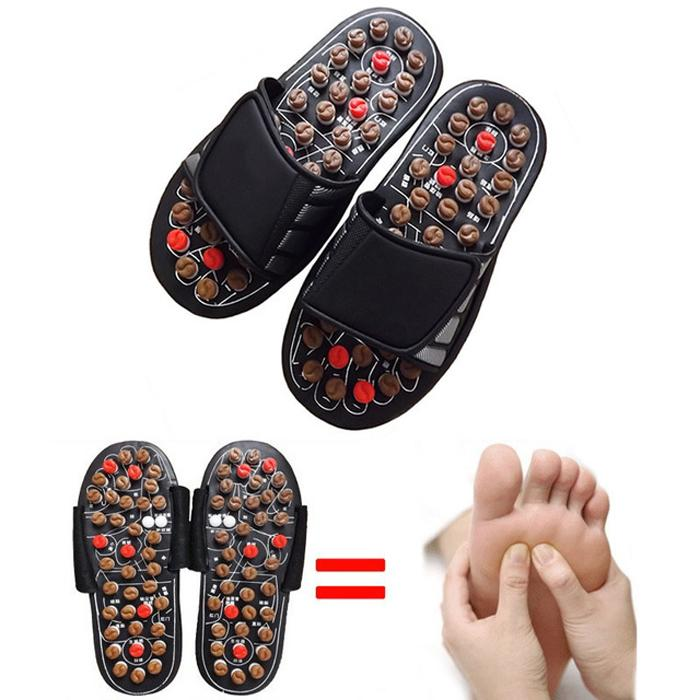 Foot Massage Slippers - BlackKey Features: Stronger antibiotic efficacy Nano-Silver is intermixed when the spring raised particles is made, it causes this product to have efficacy of deodorization and antiseptic Strong healing