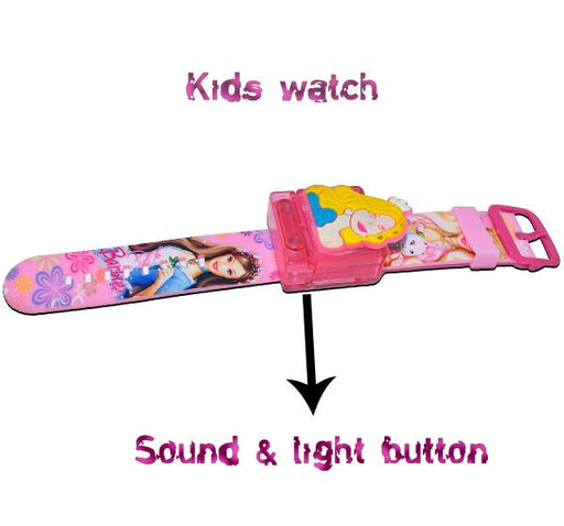 Digital Watch For Kid- Barbie - Hiffey