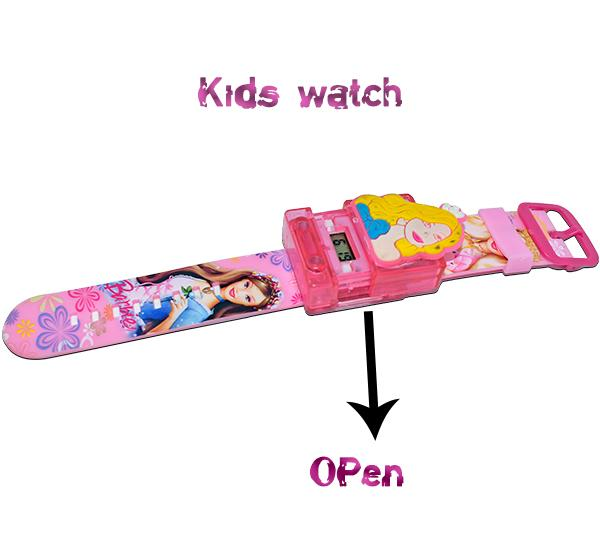 Digital  Watch For Kid- Barbie