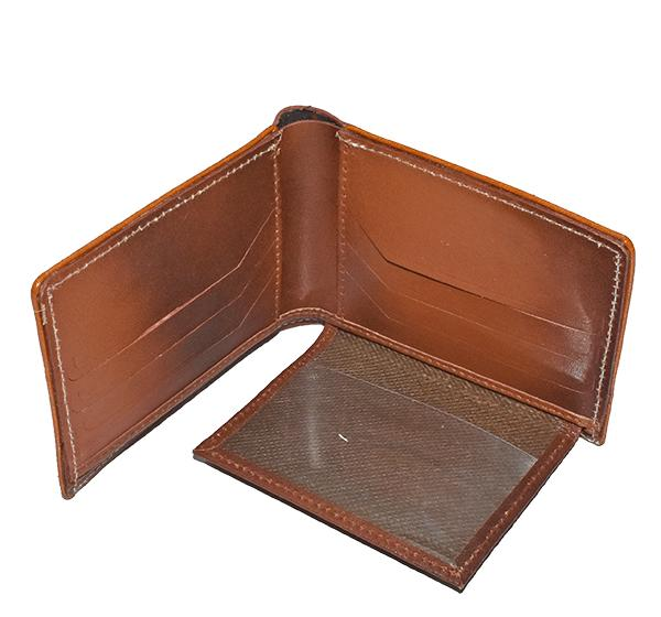 Original Cow Leather Men's Wallet & Key Chain - Brown - Hiffey