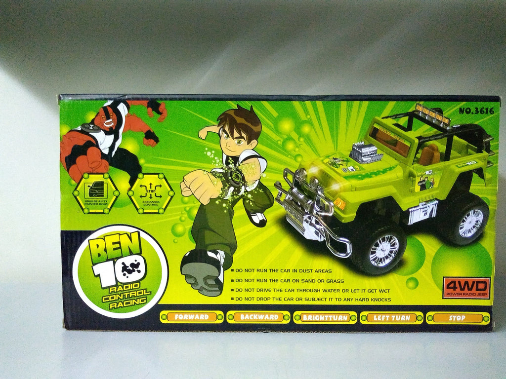 Ben10 Radio Control Racing Car - Hiffey
