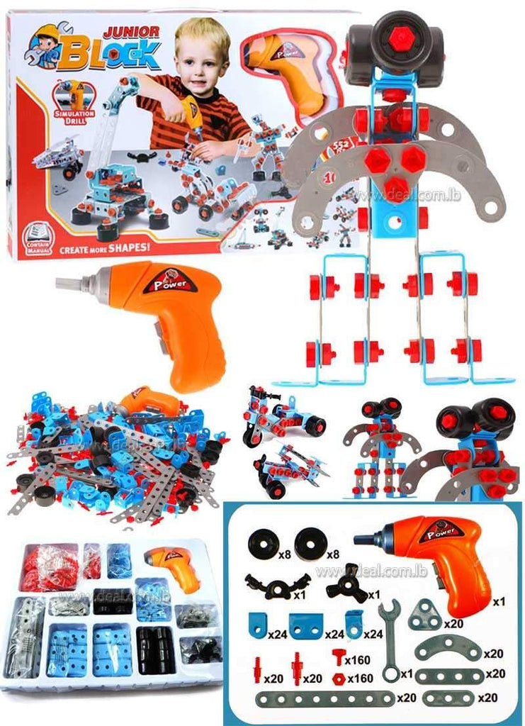 Junior Block Set 286 Pieces