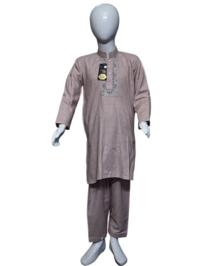 AntiqueWhite kids Kurta and Shalwar