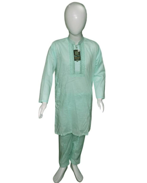 Apple Green kids Kurta and Shalwar - Hiffey