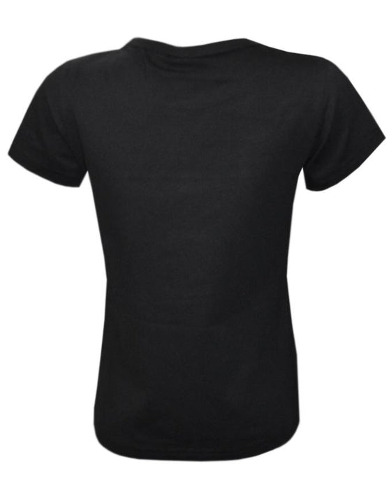 Black Color T-Shirt For Kids - Hiffey