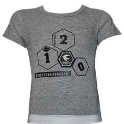Grey Color T- Shirt For Kids