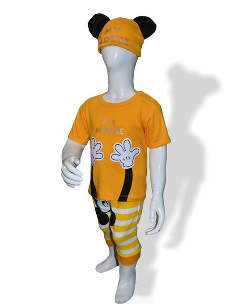 Mickey Mouse Kids Summer Collection with Hood