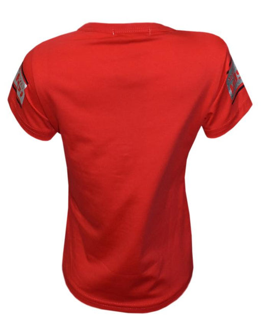 Red Color T- Shirt for Kid - Hiffey