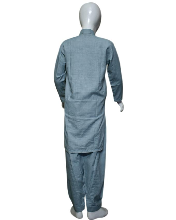 Wedgewood Gray kids Kurta and Shalwar