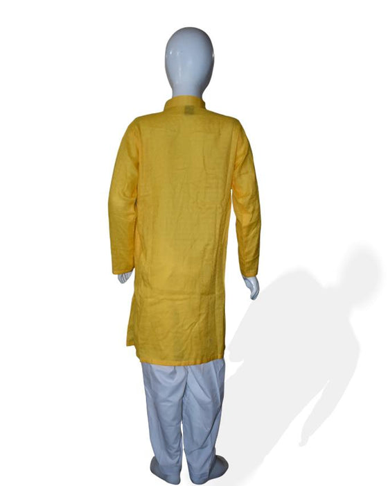 Yellow Kids Kurta and Shalwar - Hiffey