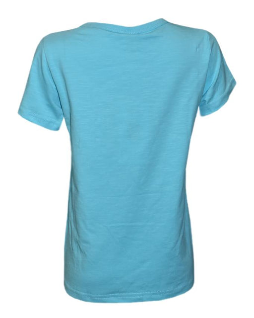 Light Blue Color T-Shirt For Kids - Hiffey