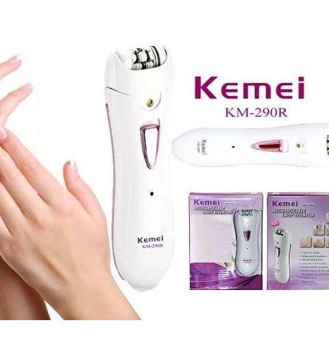Kemei Rechargeable Lady Shaver KM-290R - Hiffey