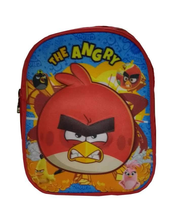 Angry Bird 3D Characters School Bag for Pre-School