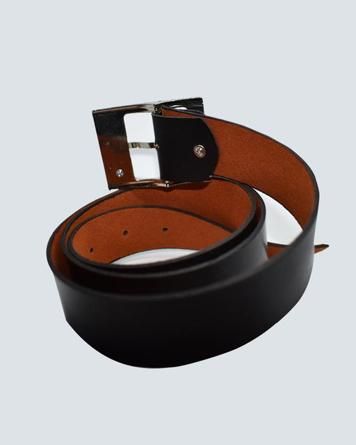 GA Leather Belts For Men - Black - Hiffey