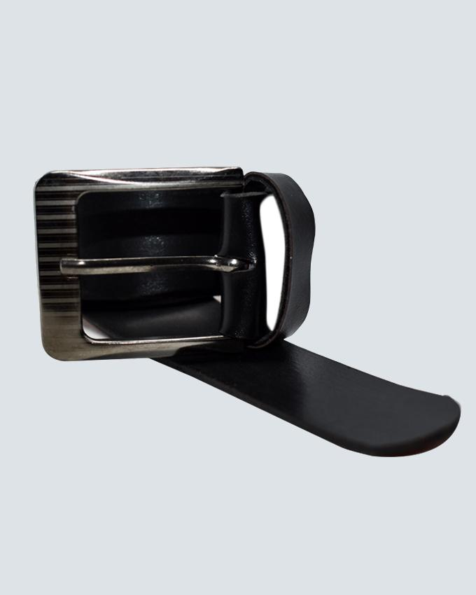 Formal Leather Belt For Men - Black