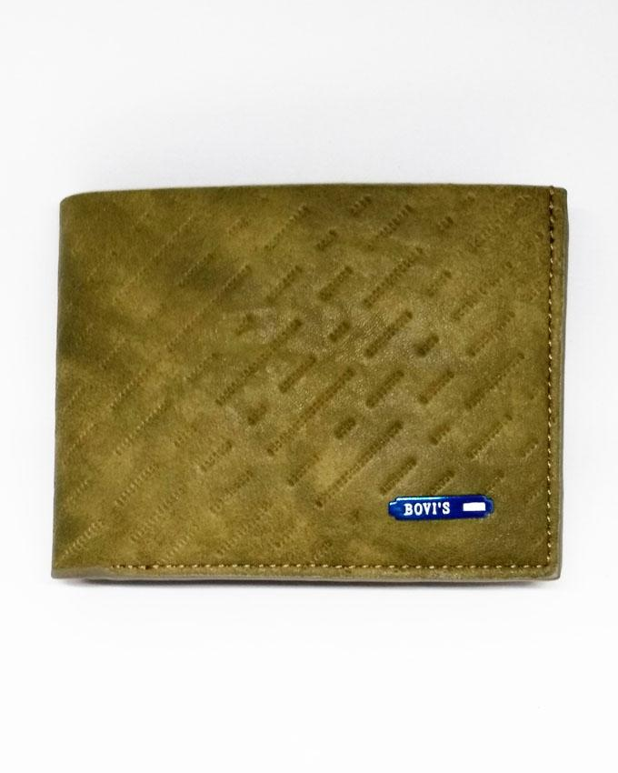 Bovis Wallet for Men - Green