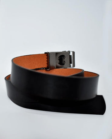 OKFLY Buckle Belt For Kids - Black