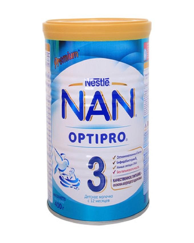 Nestle NAN 3 - Growing-Up Formula - 400 Gms