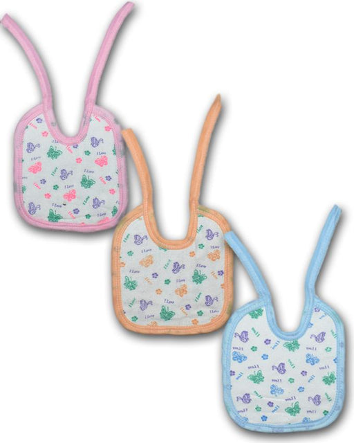 Baby Bibs Towel Fabric - Pack of 3 - Hiffey