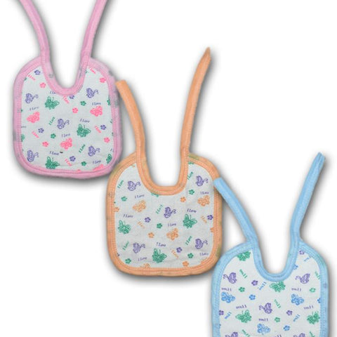 Baby Bibs Towel Fabric - Pack of 3