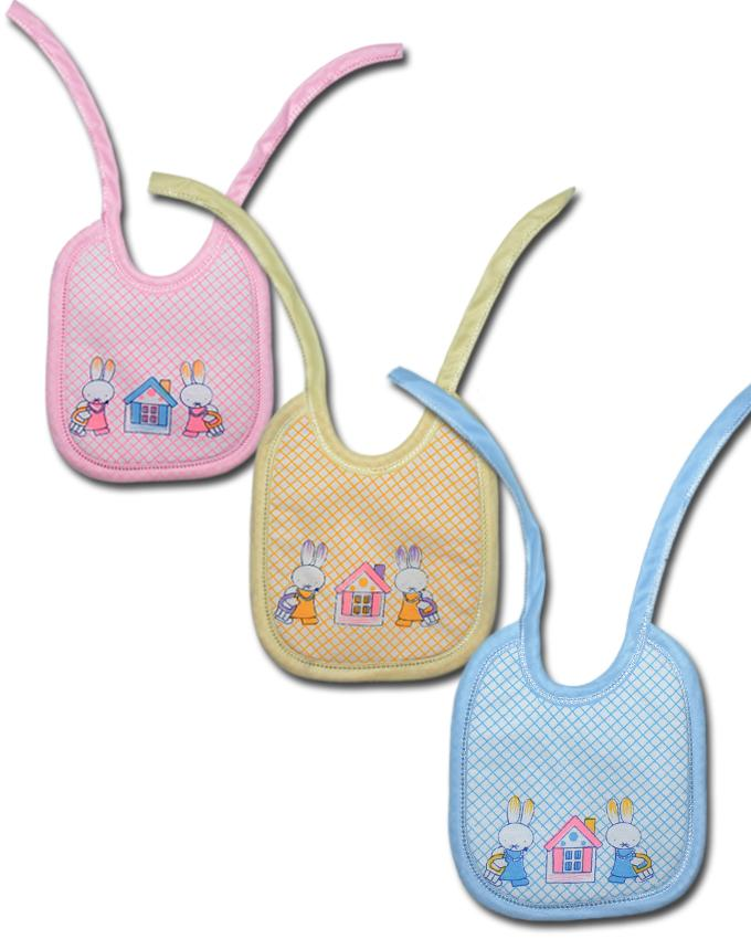 Baby Bibs Water Proof - Pack of 3