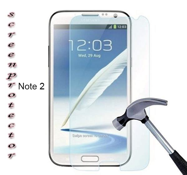 Screen Glass Protector for Samsung Galaxy Note 2 - Hiffey