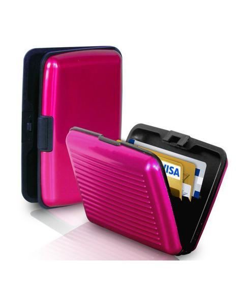 Alluma Wallets for Men and Women - Pink - Hiffey