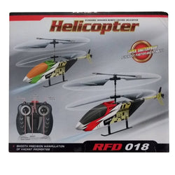 2 Channel Remote Control Helicopter RFD 018