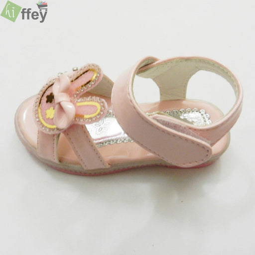 Pink Rabbit Face Kids Fashion Sandal For Girl - Hiffey