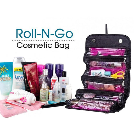 Roll N Go Cosmetic Bag - Hiffey