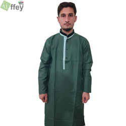 Green Kurta For Men - Hiffey
