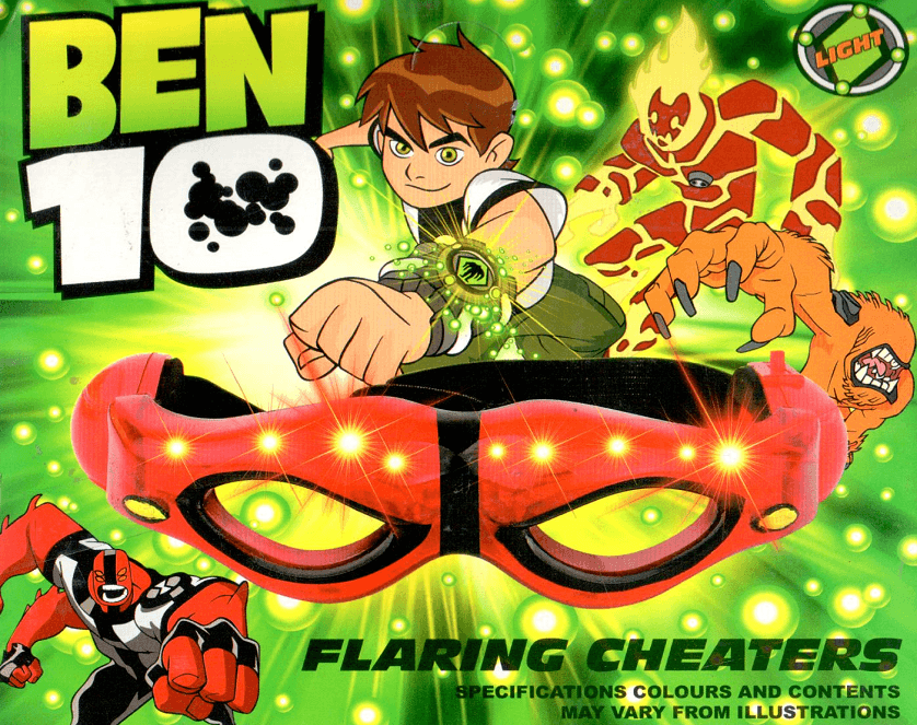 Ben10 Flaring Cheaters Lightening Glasses for Kids