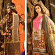 Farah Noor Embroidered 3 Piece Unstitched Mid Summer Collection - KH10